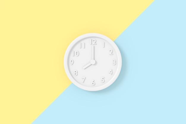 3d-weergave van klokmodel.