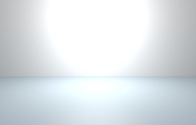 3d-weergave van lege grijze abstracte minimale conceptenachtergrond
