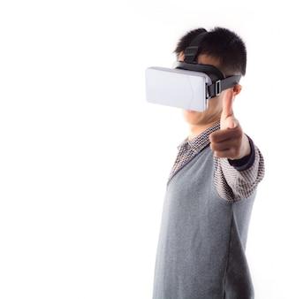 3d werkelijkheid perceptie cyberspace tiener