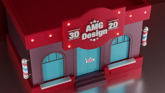 3d-winkel om te winkelen en meer