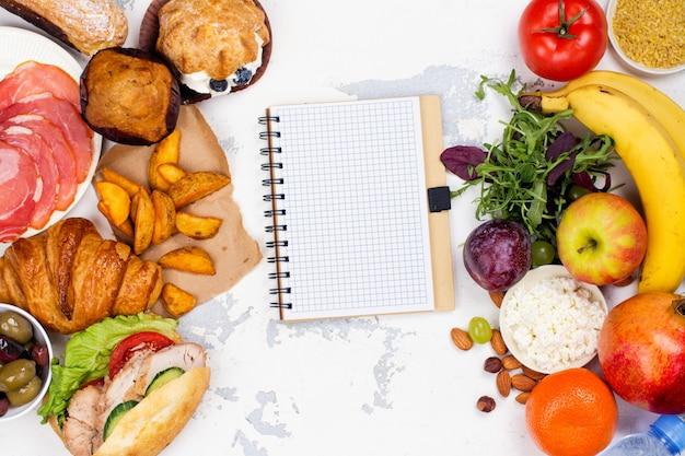 5: 2 vasten dieet concept