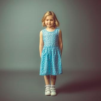 5-jarige blanke meisje.