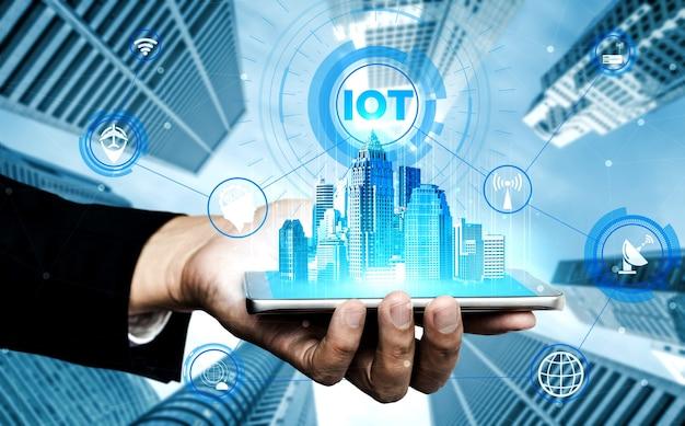 5g-communicatietechnologie van internetnetwerk