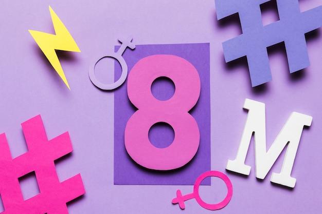 8 maart feministische beweging en vrouwendag