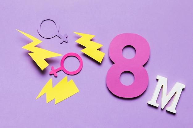 8 maart maand met donderslagen en geslachten