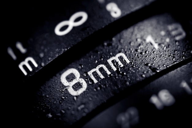 8mm digitale camera lens