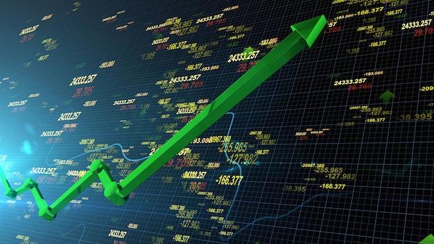 Aandelenkoersen stijgen