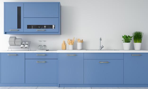 Aanrecht in de moderne keuken