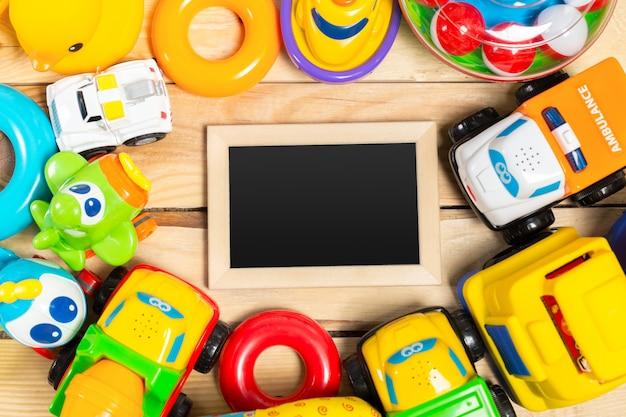 Aantal kinderen of baby speelgoed