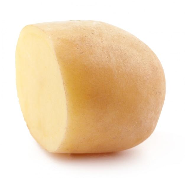 Aardappel isoleren op wit