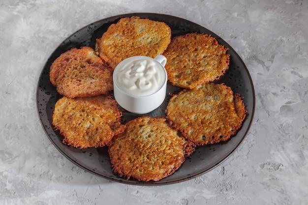 Aardappel pannekoeken