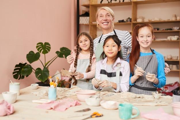 Aardewerkworkshop voor kinderen