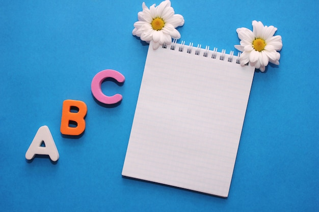 Abc - de eerste letters van het engelse alfabet