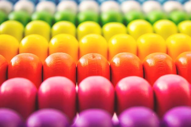 Abstract achtergrondwebbehang met kleur van regenboog. afbeelding regenboog achtergrond.