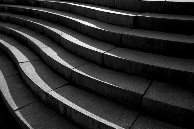 Abstract architectuurontwerp van cementtrap