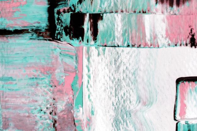 Abstract behang als achtergrond, getextureerde acrylverf met gemengde kleuren