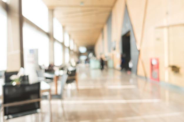 Abstract blur hotel interieur