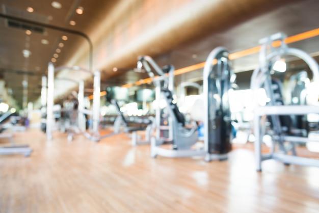 Abstract blur sportschool