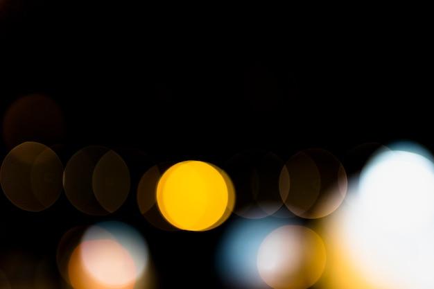 Abstract bokeh vaag kleurenlicht kan achtergrond gebruiken