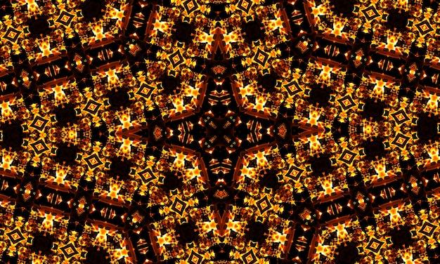 Abstract cool caleidoscoopmotief x, superresolutie voor uw project