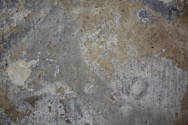 Abstract deel van de oude bakstenen muur met geruïneerd gips voor vintage achtergrond en behang in de stijl van sepia