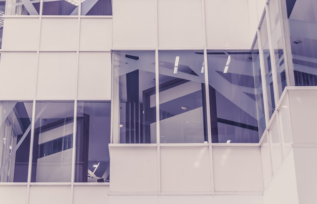 Abstract fragment van moderne architectuur