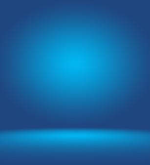 Abstract glad blauw met zwart vignet studio goed te gebruiken als achtergrond bedrijfsrapport digitale website ...