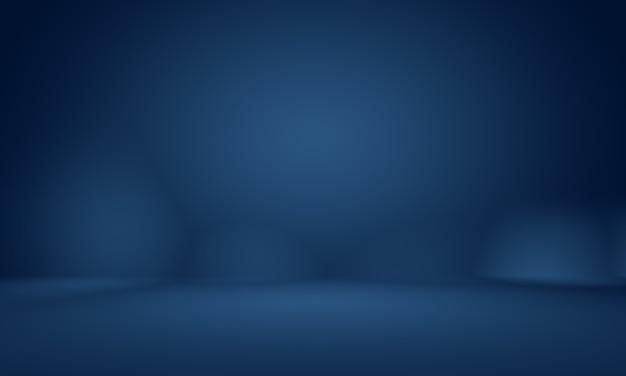 Abstract glad donkerblauw met zwart vignet studio goed te gebruiken als achtergrond, bedrijfsrapport, digitaal, websitesjabloon, achtergrond.