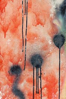 Abstract kleurrijk graffiti behangpapier