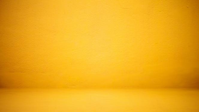 Abstract luxe helder gele muur, goed als achtergrond, achtergrond en indeling.