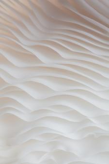 Abstract macrofotografie als achtergrond van sajor-caju-paddestoel