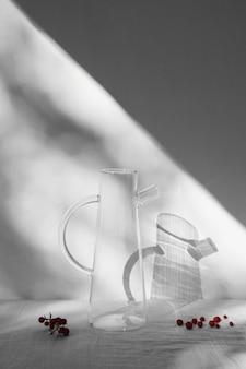 Abstract minimaal concept binnenshuis schaduwen