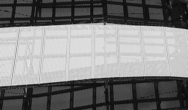 Abstract modern metalen gebouw