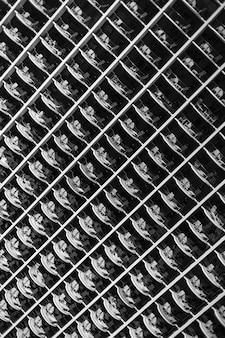 Abstract naadloos patroon van vensters