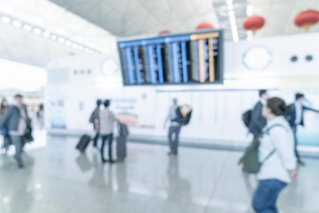 Abstract onscherpte en intreepupil luchthaven