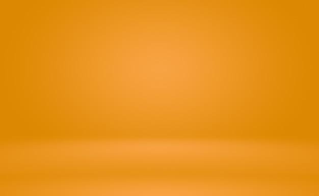 Abstract oranje achtergrond lay-out designstudioroom websjabloon bedrijfsrapport met vloeiende cirkel g...