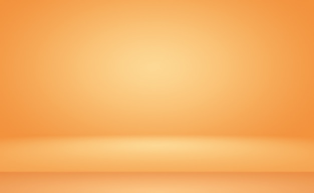 Abstract oranje achtergrond lay-outontwerp, studio, kamer, websjabloon, bedrijfsrapport met vloeiende cirkel kleur voor de kleurovergang.