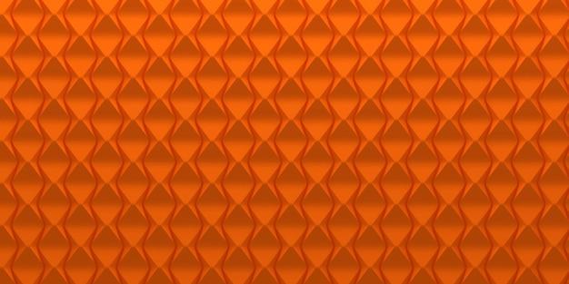 Abstract oranje geschubde achtergrond