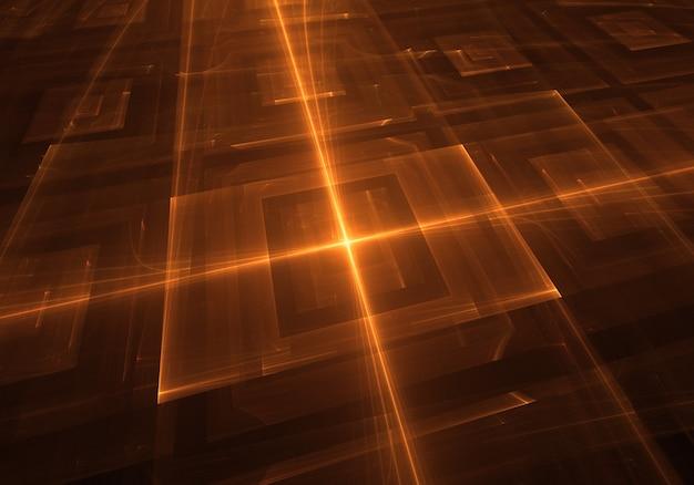 Abstract oranje techo lichte achtergrond