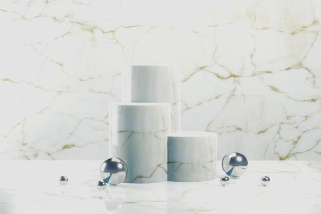 Abstract podium voor productvertoning