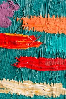 Abstract schilderij poster. voor een schilderententoonstelling
