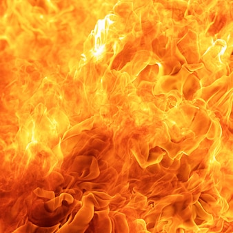 Abstract uitbarsting, vlam, vuurelement voor gebruik als een textuurachtergrondontwerpconcept, vierkante verhouding, 1x1