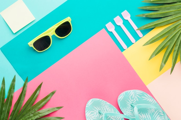 Abstract vakantieconcept