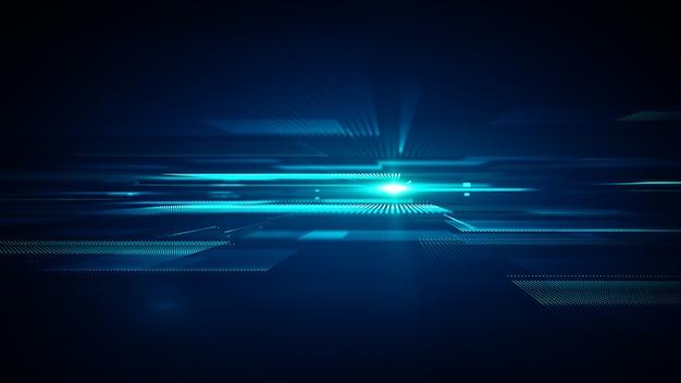 Abstract van technologie groot gegevens concept als achtergrond.