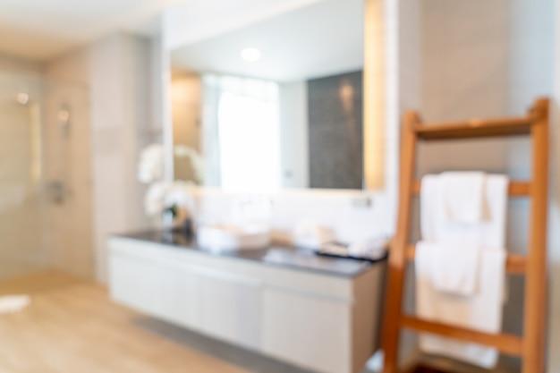 Abstract vervagen badkamer interieur