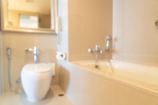 Abstract vervagen badkamer of toilet