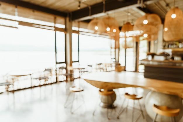 Abstract vervagen café of coffeeshop
