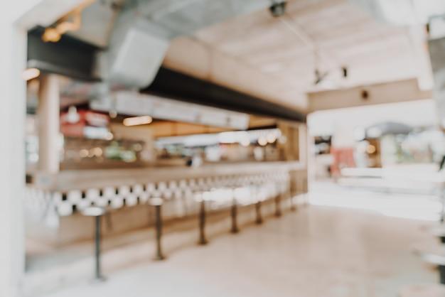Abstract vervagen en defocused in café-restaurant voor achtergrond