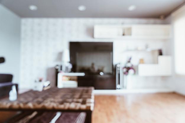 Abstract vervagen in de woonkamer voor