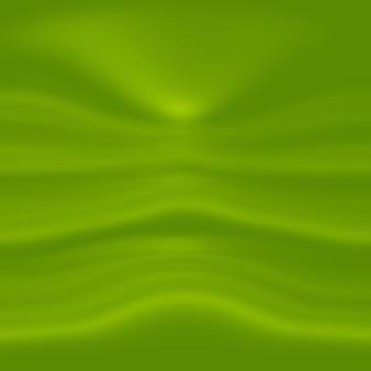 Abstract vervagen leeg groen kleurverloop studio goed te gebruiken als achtergrond, websitesjabloon, frame, bedrijfsrapport.